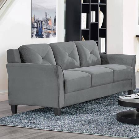 Lifestyle Solutions Ireland Sofa (Grey) $179.00 - Walmart +Free Shipping