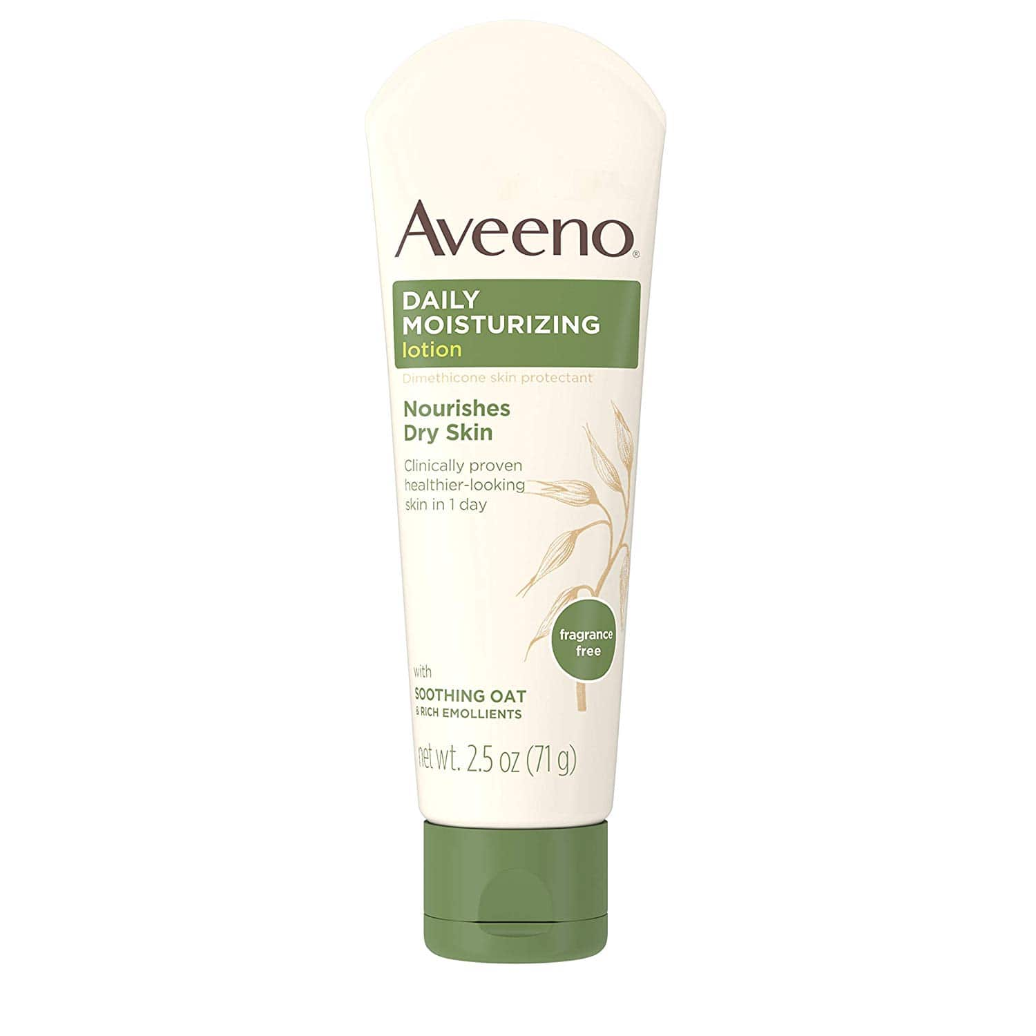 Aveeno 2-Pack 2.5oz Daily Moisturizing Lotion $5.76 & More - Amazon