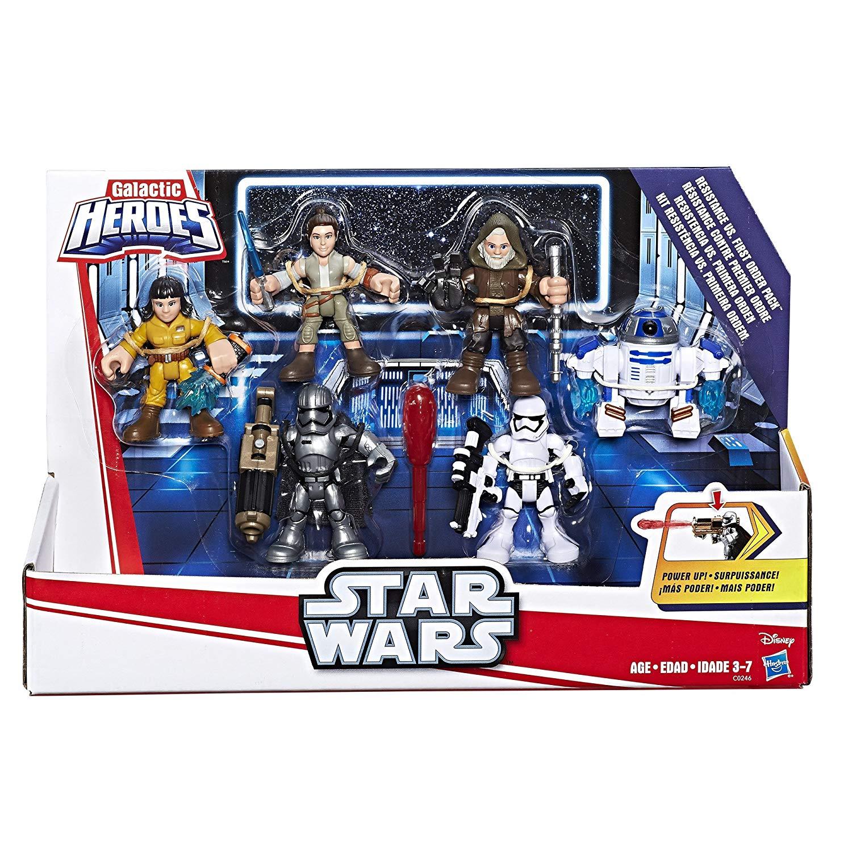 Playskool Galactic Heroes Star Wars Resistance VS. First Order Pack $10.89