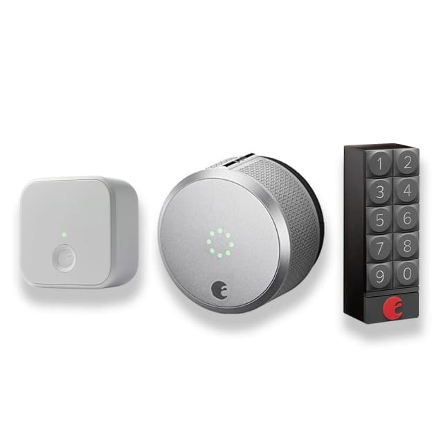 tink Home Connected Deals: August Smart Lock Pro, Connect + Keypad - $217.47 AC & MORE -  Free Shipping