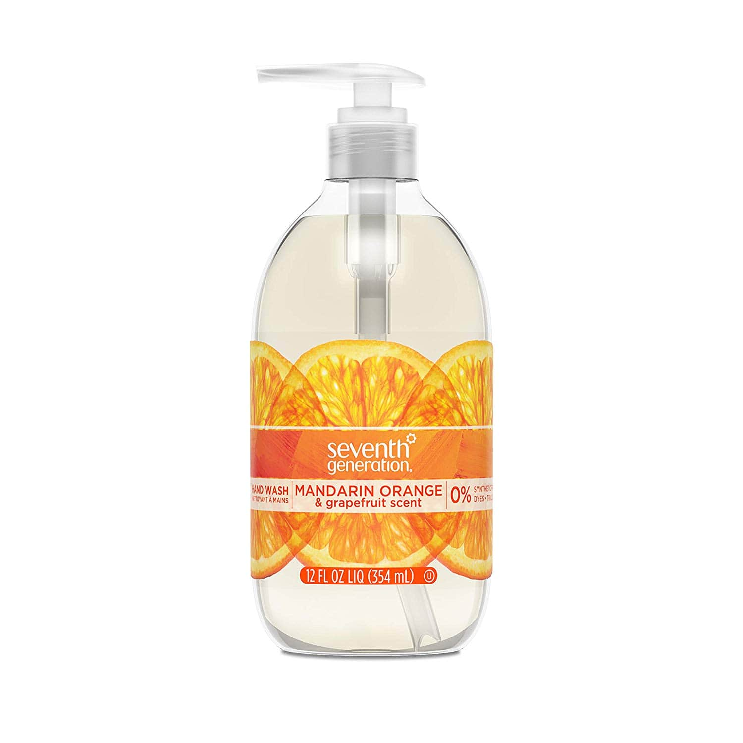 8-Count Seventh Generation Hand Wash Soap (Mandarin Orange & Grapefruit) of $13.15 5% or $10.75 15% AC's w/s&s (YMMV)