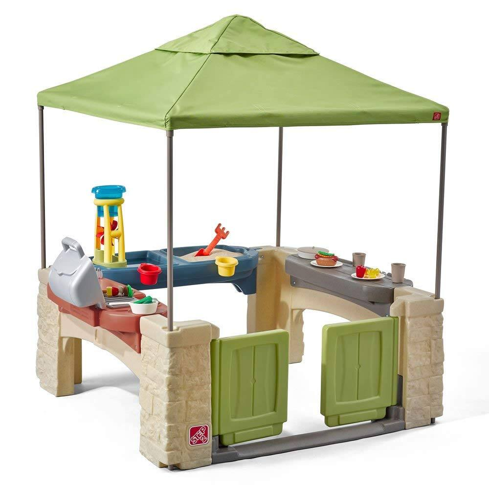Step2 All Around Playtime Patio with Canopy Playhouse $114.99 AC - Amazon +Free Shipping