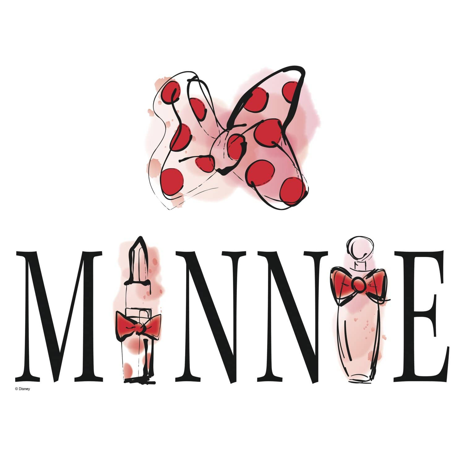 RoomMates Minnie Mouse Perfume Peel And Stick Wall Decals $3.87 - Amazon (*Add On or Use Amazon Day)