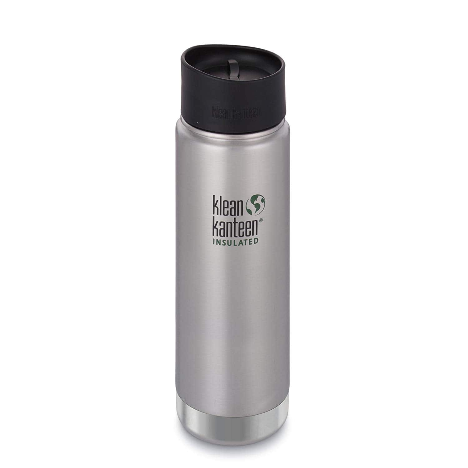 """Klean Kanteen 16oz. Wide """"Double Wall"""" Vacuum Insulated Stainless Steel Coffee Mug with Leak Proof Café Cap 2.0 $15.39 - Amazon"""