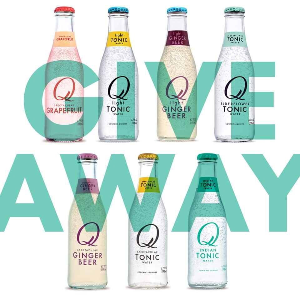 Free Q Drinks Carbonated Mixer Beverage (Tonic Water Flavors) Coupon by Mail