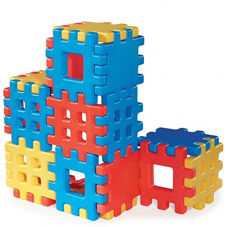 18-Piece Set Little Tikes Big Waffle Toddler Kid Construction Building Block Set $49.98 - Walmart - Free Shipping