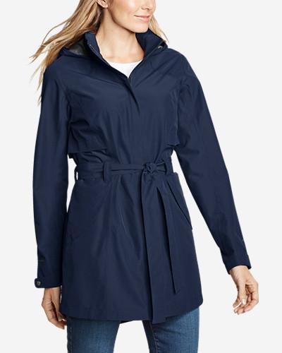 Eddie Bauer Women's Kona Trench Coat  $62.65 +Free Shipping