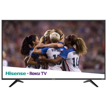 "Hisense 55"" Class 4K Ultra HD (2160P) Roku Smart LED TV (55R6000E) $59 - Walmart YMMV Brickseek"