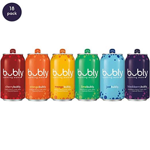 18-Count 12oz bubly Sparkling Water (all for love pride Pack) $7.69 5% or $6.59 15% AC w/ S&S + Free S&H