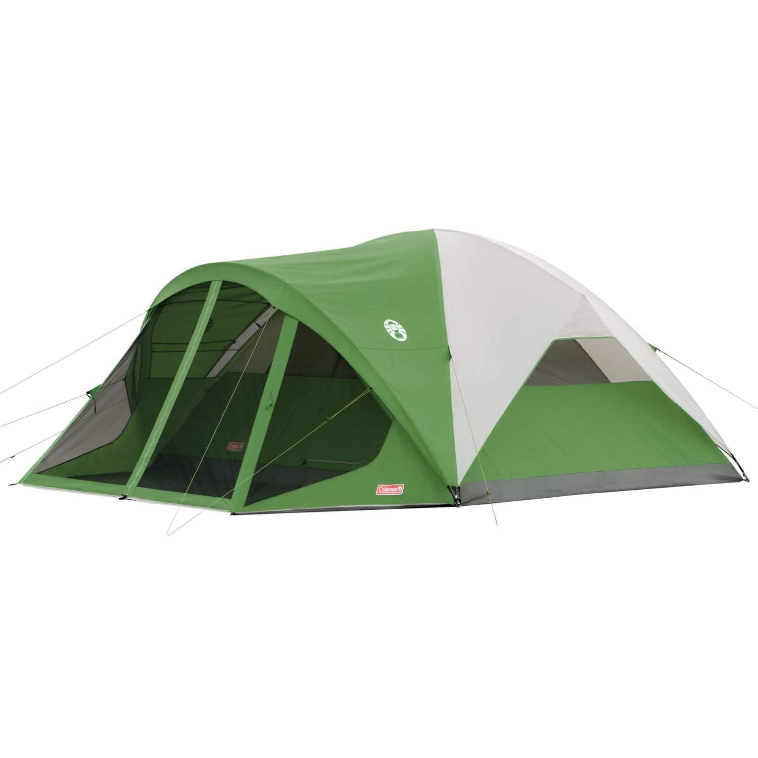 Coleman Dome Evanston Camping Tent with Screen Room (6 Person) $87.99 | (8) $96.17 - Amazon