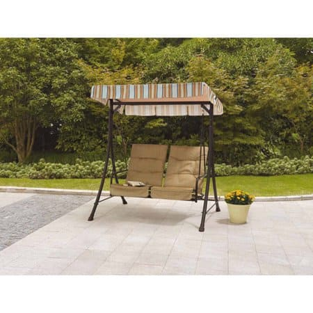 Mainstays Richland Landing 2-Seat Swing with Pull-out Ottomans $132.59 - Walmart or Jet +Free Shipping (Online)
