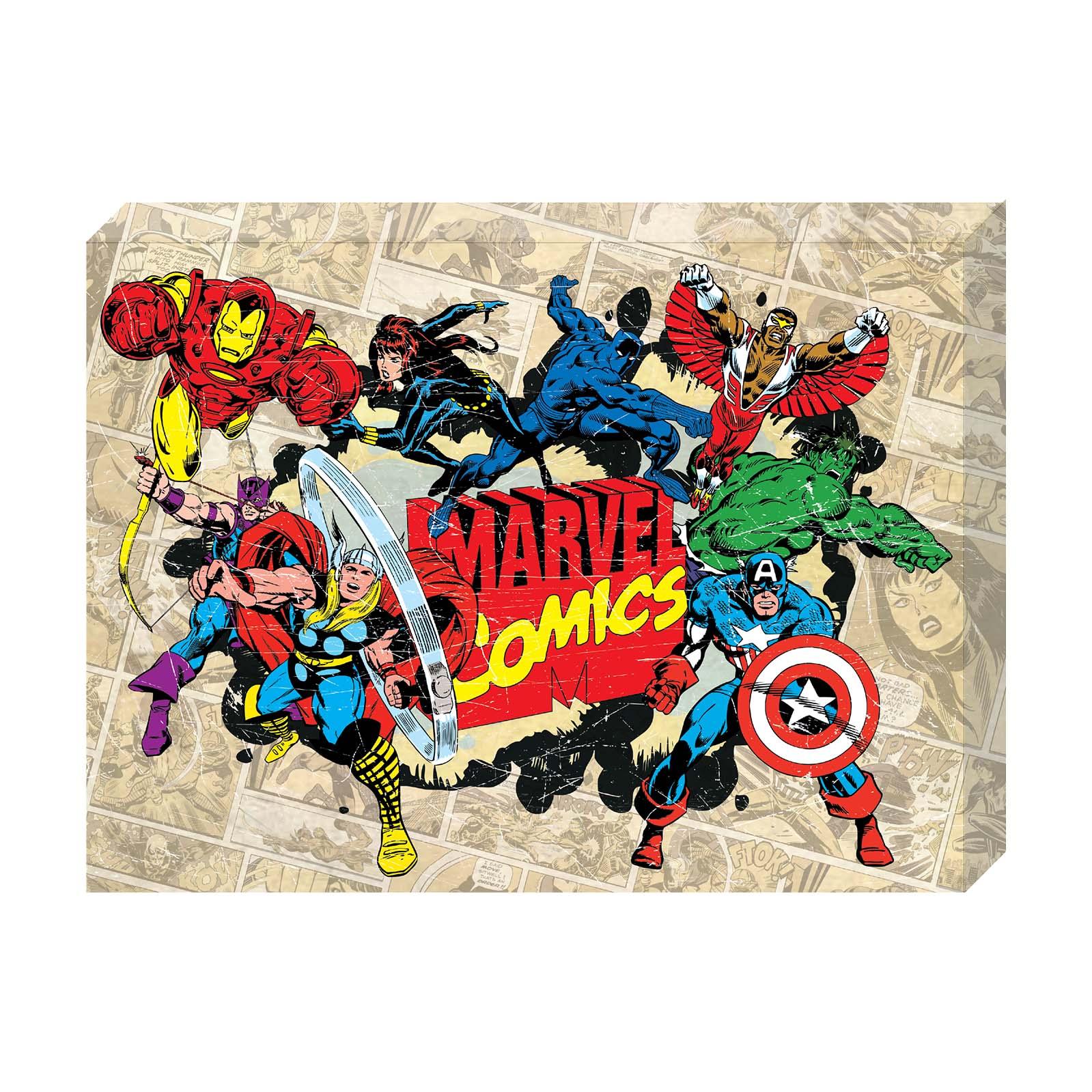Marvel, Avengers, Spider-Man Canvas $3.00 & MORE - Walmart.com (Online)