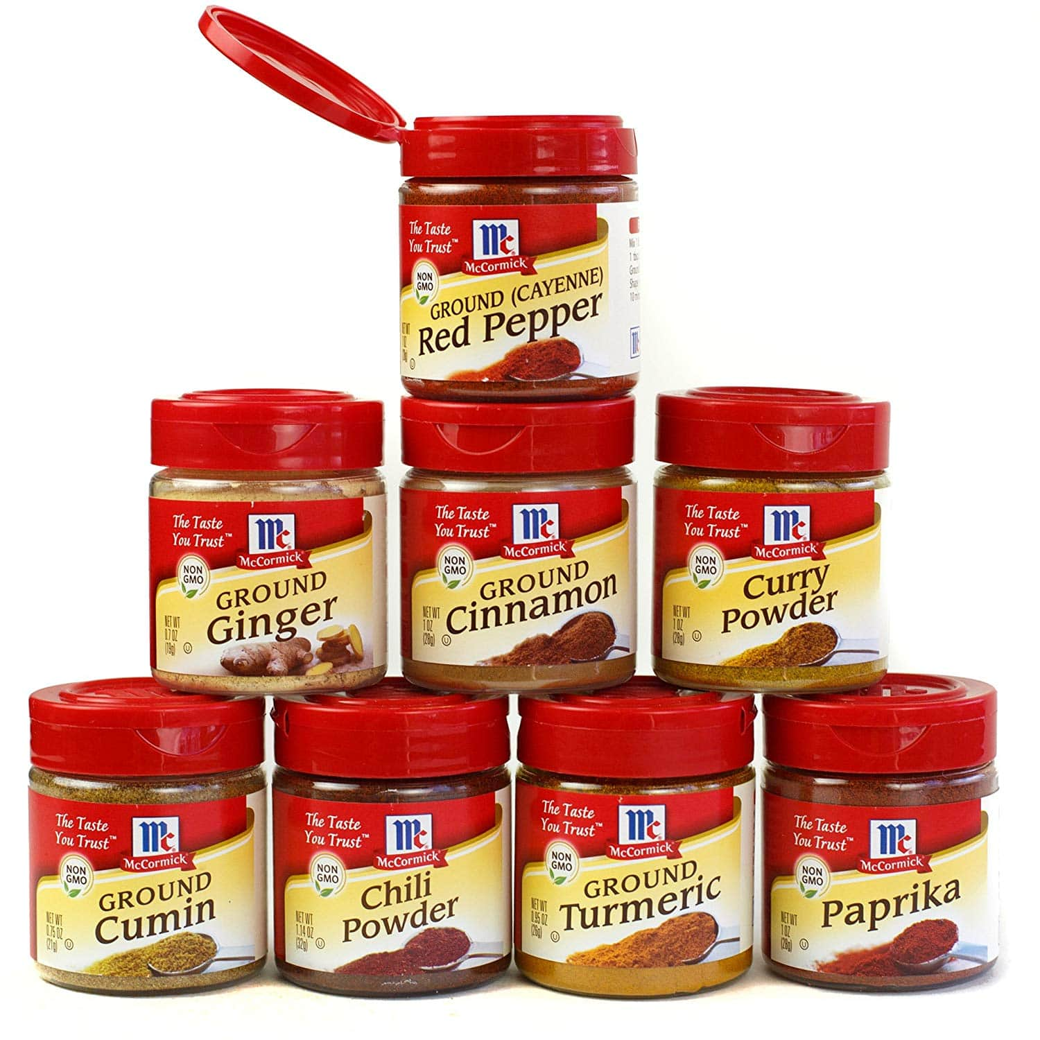 8-Pack McCormick Everyday Essentials Variety Pack $11.29 5% or $9.39 15% AC w/s&s - Amazon