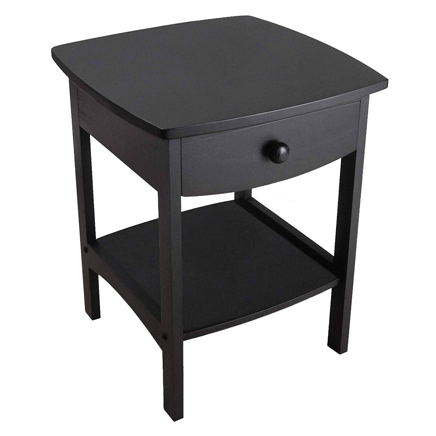 Winsome Wood Accent Table: Black $35.35 & More - Amazon