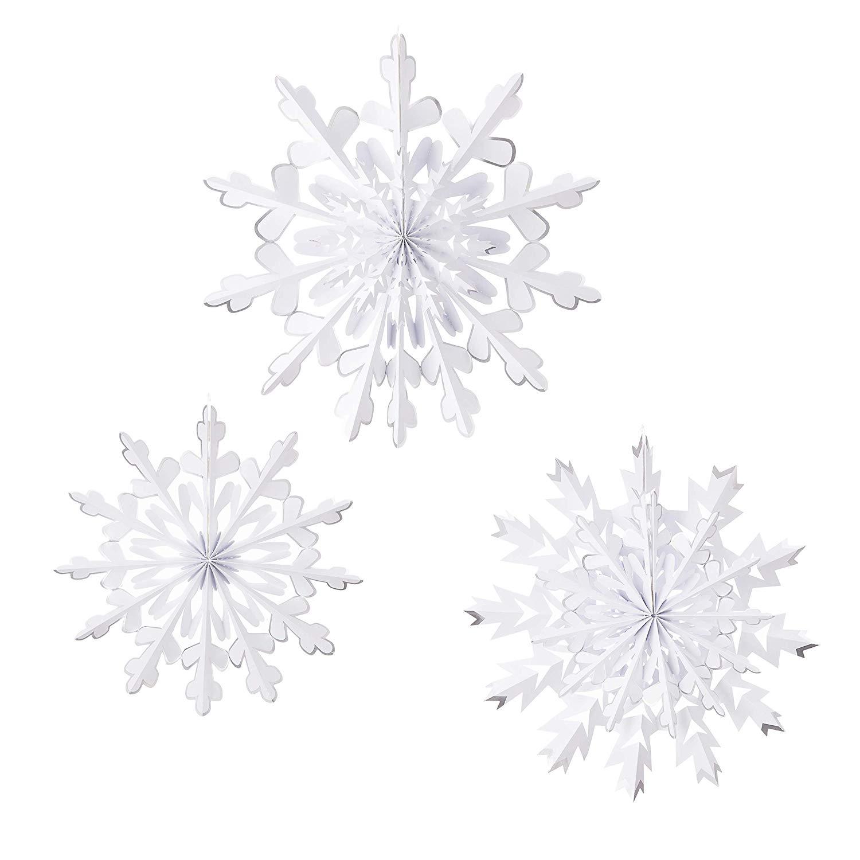 Martha Stewart Paper Rosette Snowflakes (10.9 x 1.7 x 5.9) $2.31 - Amazon ($1 Digital Credit)