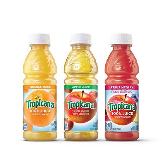 24-Ct. Tropicana 10oz. Bottles Various Flavors $9.73 5% or $8.43 15% AC w/s&s