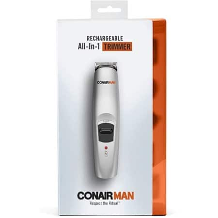 Conair 13-Piece Rechargeable All-In-One Beard & Mustache Trimmer $9.88 - Walmart / Amazon