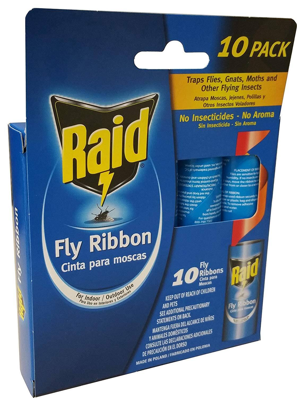 10 Ct. (1 Box) - Raid Fly Ribbon $1.96 - Amazon