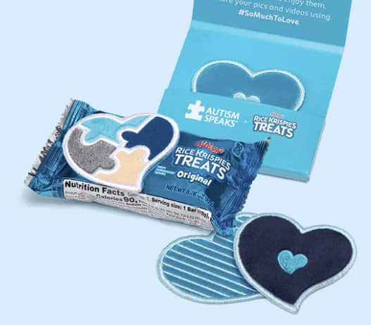 FREE Rice Krispies Treats Sensory Love Notes or Braille Stickers (YMMV States)