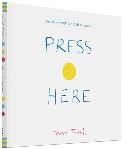 Press Here or Mix It Up Hardcover (Interactive Book for Toddlers / Kids / Baby Book) $6.00 - Amazon