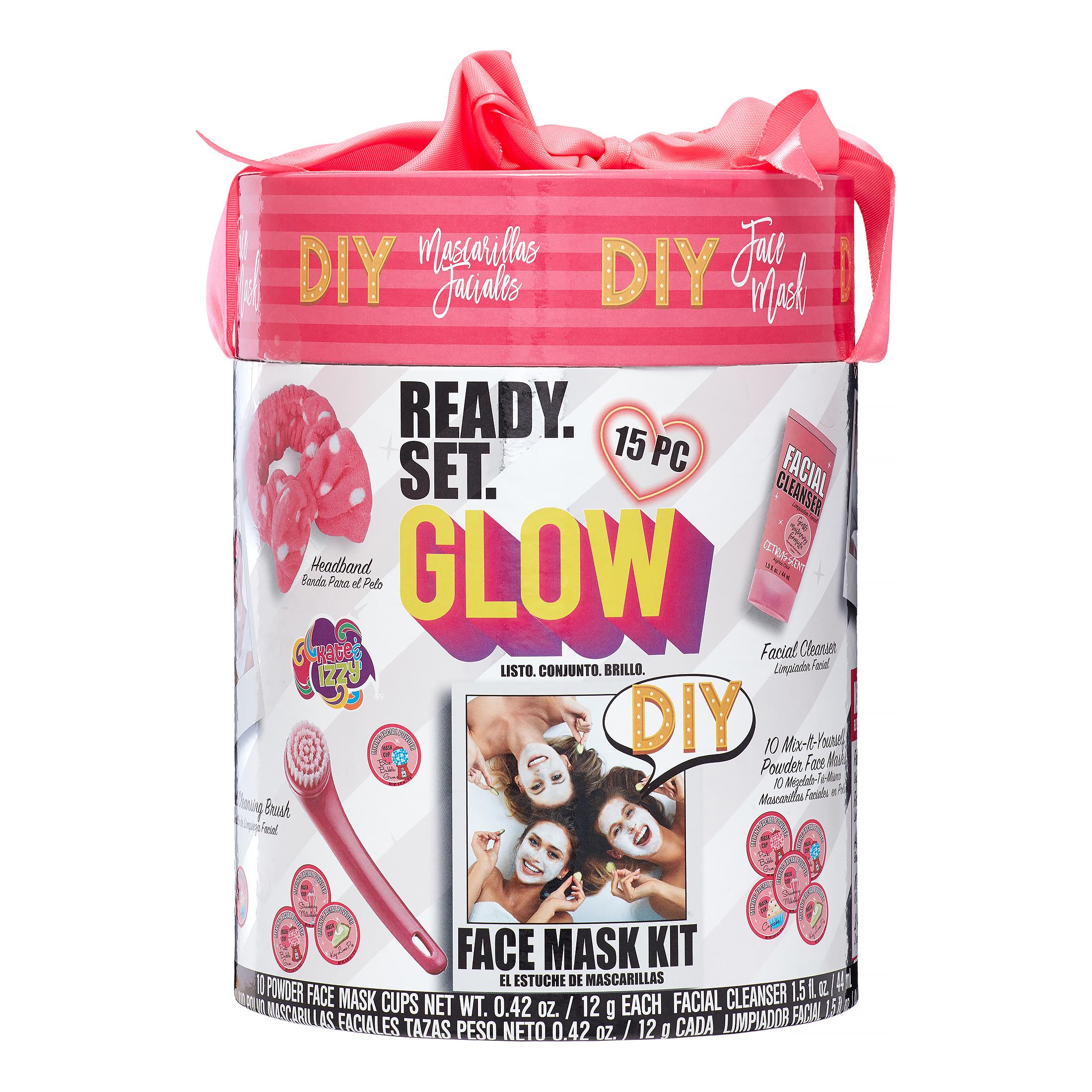 15 Pce Onyx Professional Ready Set Glow Diy Face Mask Gift