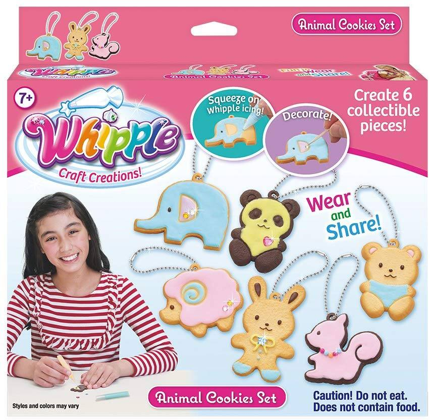 Whipple Animal Cookie Set (Craft Keychains) $3.00 - Walmart / Amazon