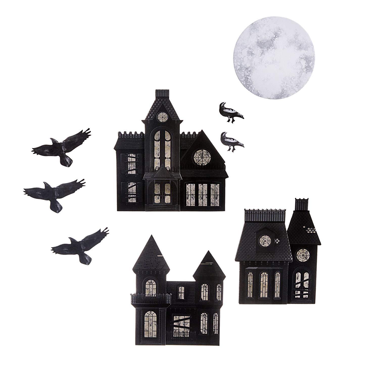 Martha Stewart Chipboard Haunted House Die Cuts $1.44 & More - Amazon