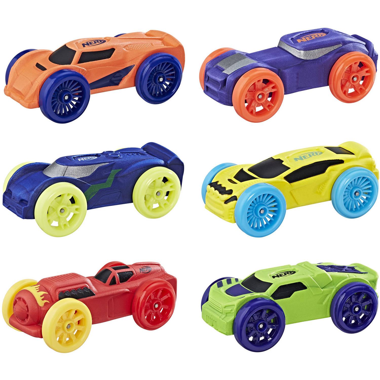 6-Pack Nerf Nitro Foam Car (Version 1) $3.99 - Walmart / Amazon