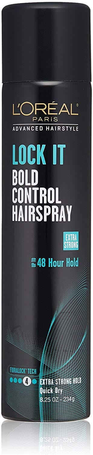 4-Ct. 8.25oz. L'Oreal Paris Advanced Hairstyle Lock It Bold Control Hairspray $9.52 5% or $7.99 15% w/s&s