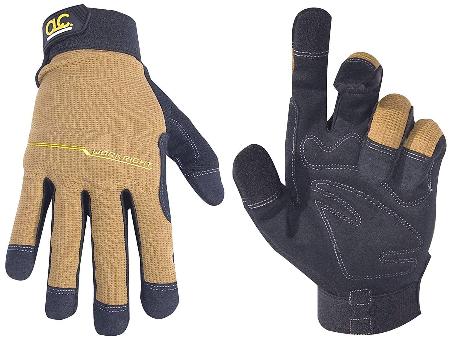 CLC Custom Leathercraft 124X Workright Flex Grip Work Gloves (XL) $4.99 - Amazon
