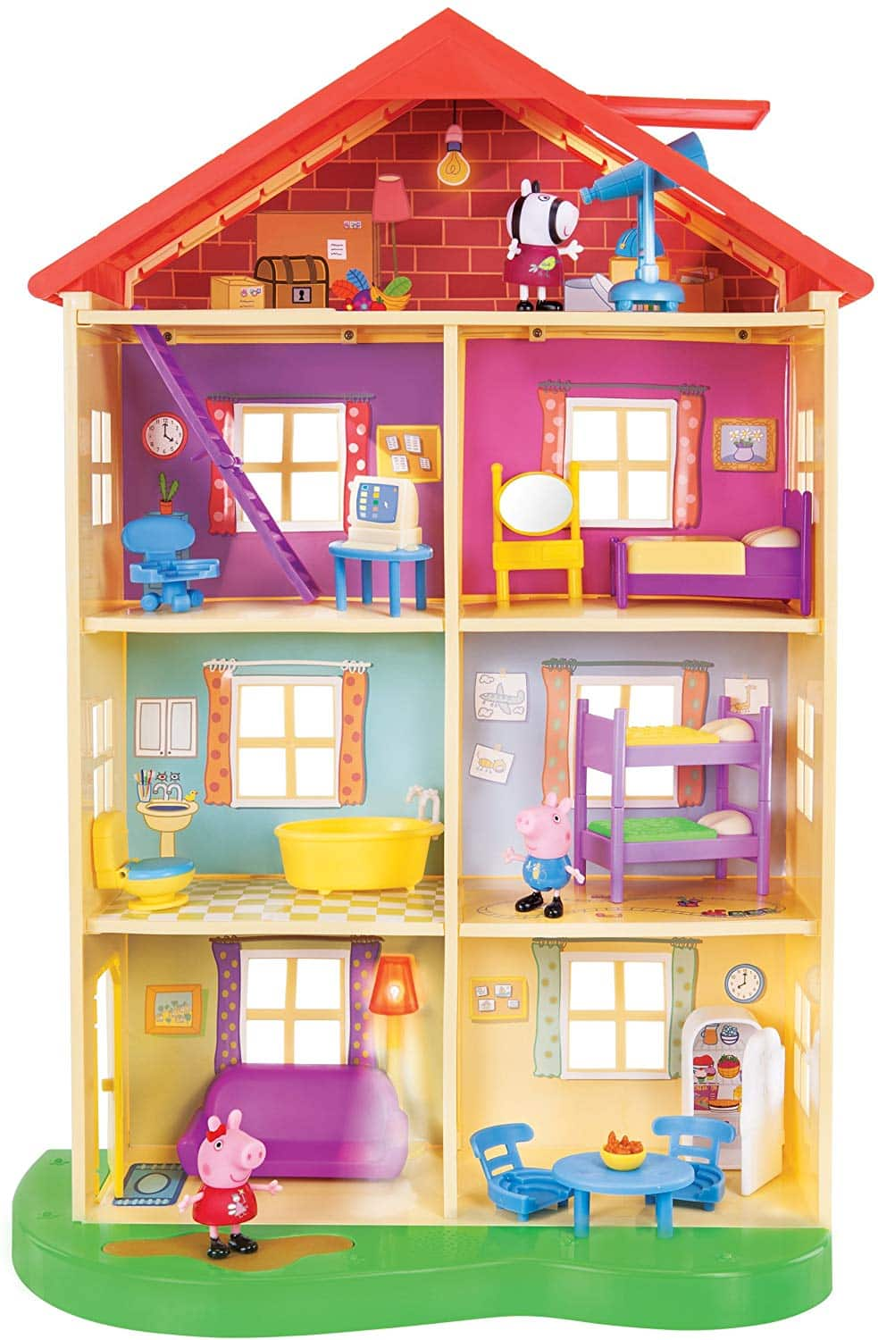 Peppa Pig Lights & Sounds Family Home Playset $35.00 Walmart / Amazon +Free Shipping