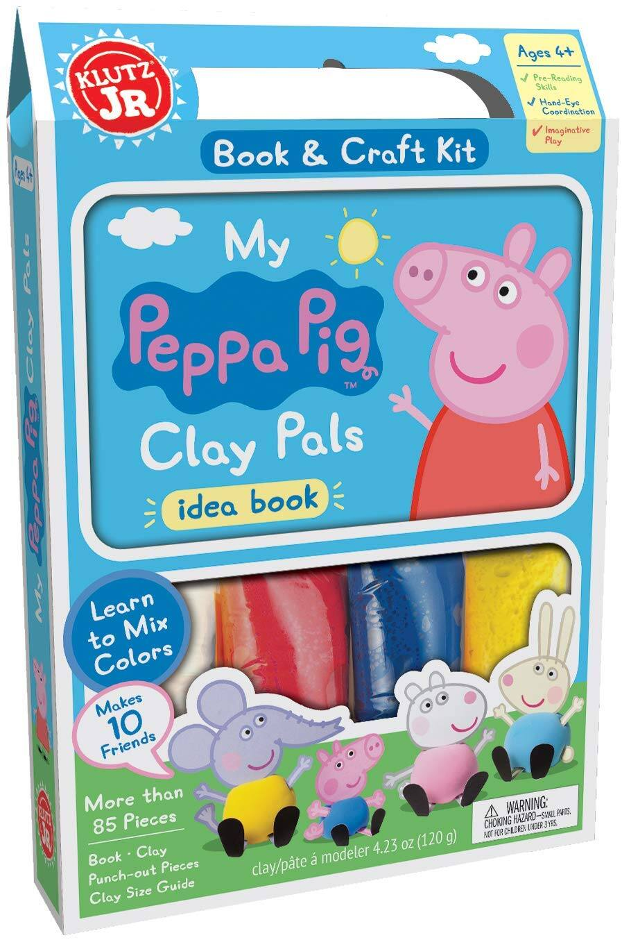 Klutz Jr. My Peppa Pig Clay Pals Craft Kit $4.61 - Amazon
