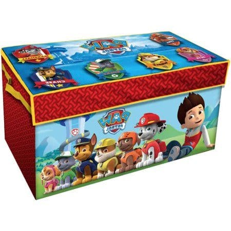 Paw Patrol Oversized Soft Collapsible Storage Toy Trunk $9.11 & MORE - Walmart / Amazon