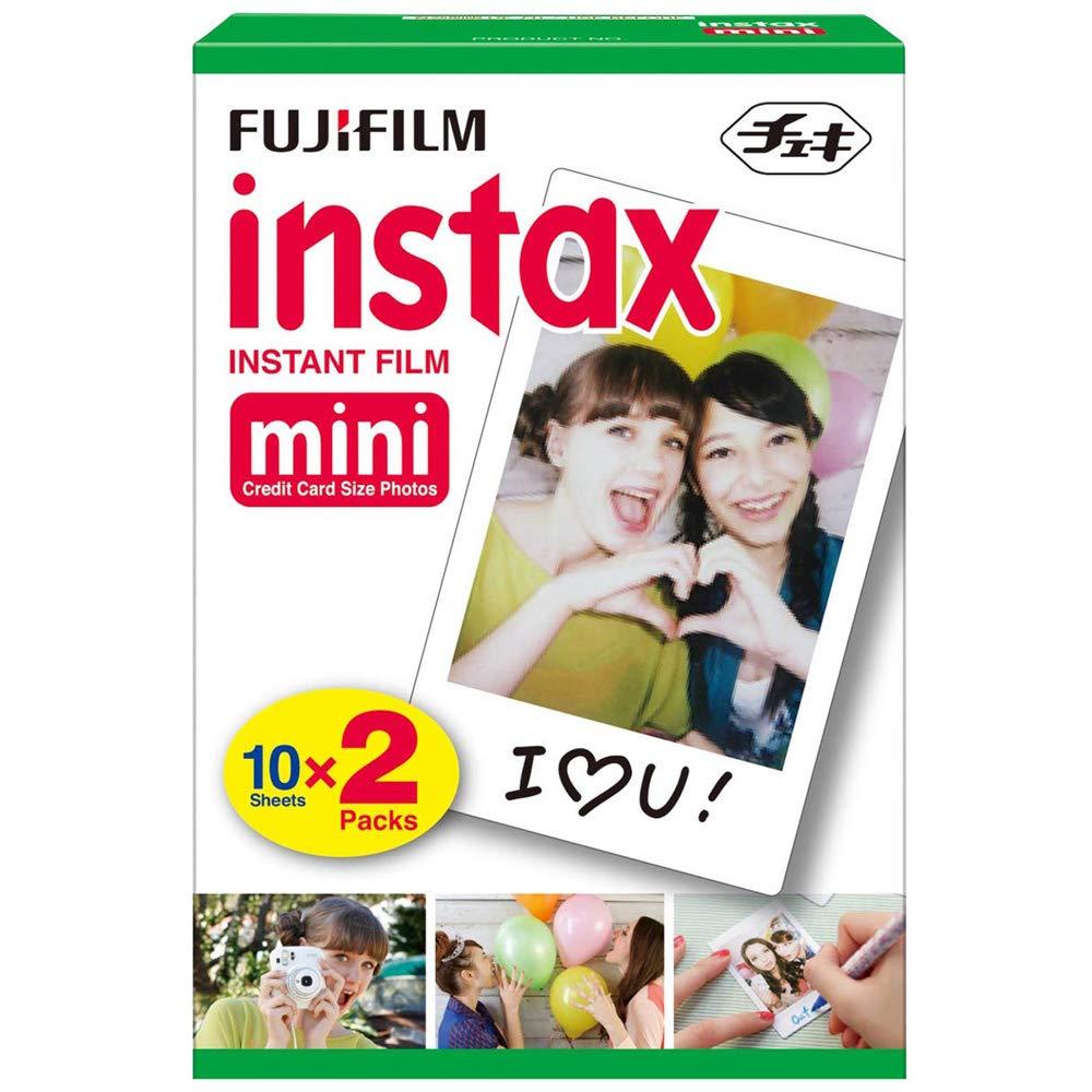 20-Count Fujifilm Instax Mini Instant Film (White Frame) $11.25 - Amazon / Walmart