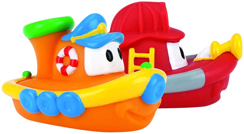 2-Pack Nuby Tub Tugs Floating Boat Bath Toys $4.73 - Amazon