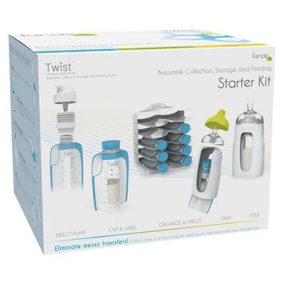 28-Piece Kiinde Breast Milk Storage Twist Starter Kit $19 - Walmart / Amazon