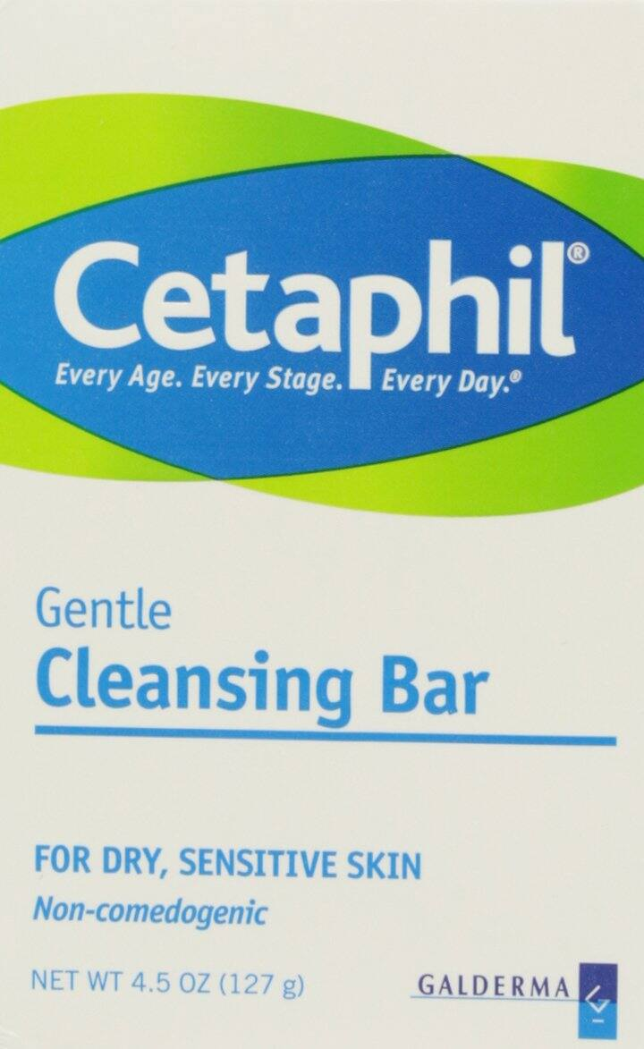 6-Count 4.5oz. Cetaphil Gentle Cleansing Bar for Dry/Sensitive Skin $10.90 5% or $9.76 15% w/s&s