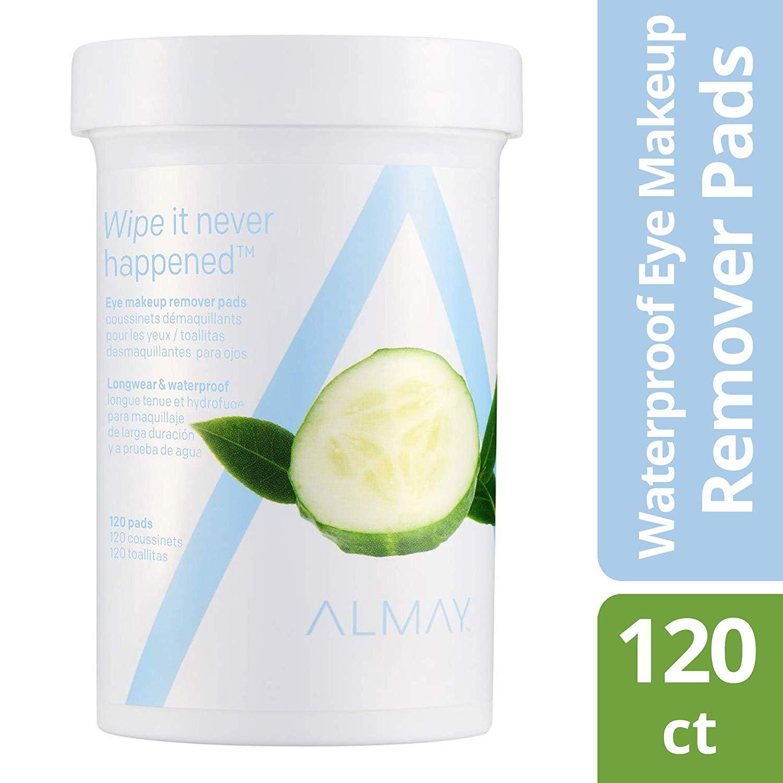 120-Count Almay Longwear & Waterproof Eye Makeup Remover Pads $3.19 5% or $2.79 15% AC w/ S&S