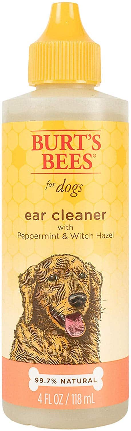 4-Oz Burt's Bees for Dogs Natural Ear Cleaner (Peppermint & Witch Hazel) $2.09 5% or $1.87 15%