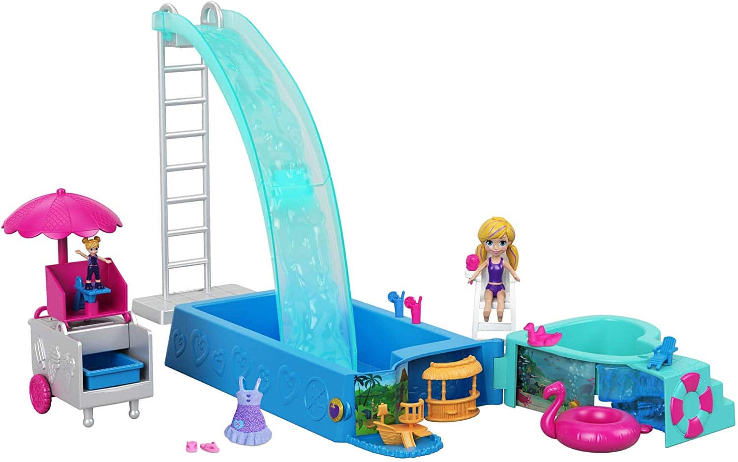 Polly Pocket Active Doll Playset $9.99 & More - Amazon