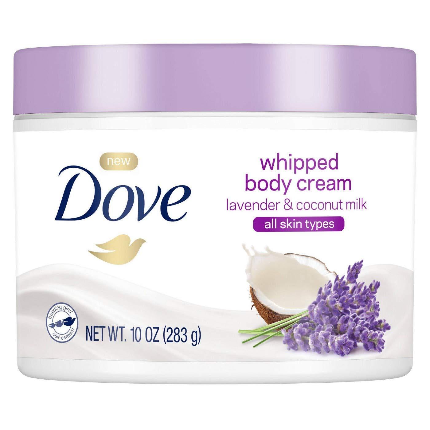 10oz. Dove Whipped Lavender and Coconut Milk Body Cream $4.07 5% or $3.64 15%