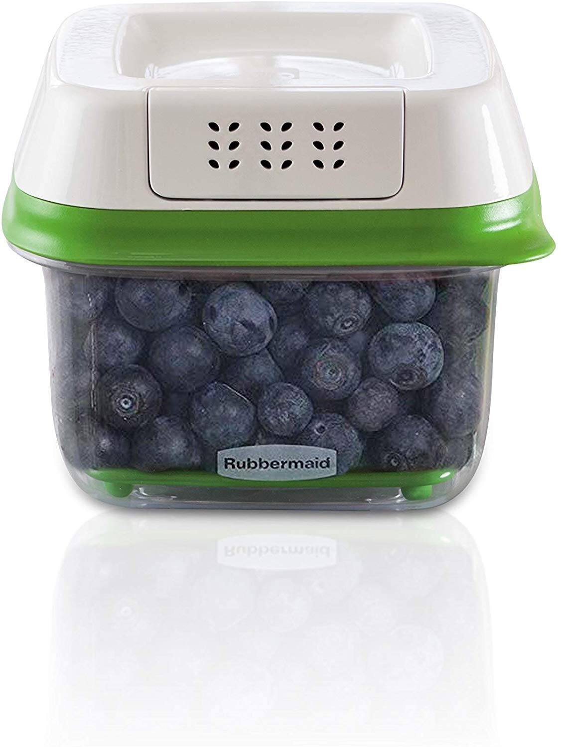 Rubbermaid FreshWorks Produce Saver Food Storage Container, Small Square, 2.5 Cup $4.95 & More - Amazon