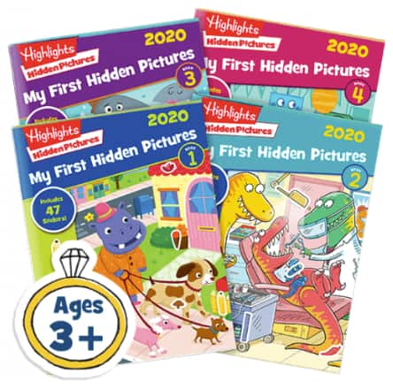 Highlights for Children - 4-Book Sets 2020 35% OFF Hidden Pictures - $16.24