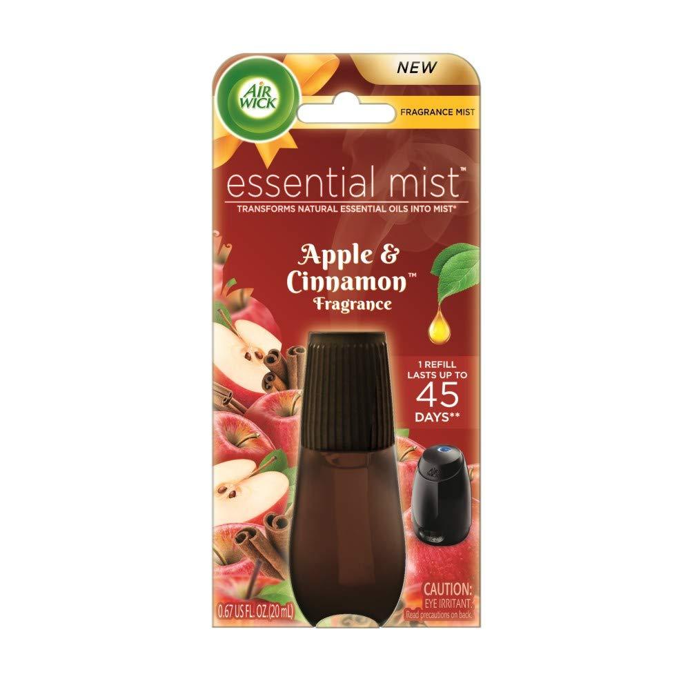 Air Wick Essential Mist, Essential Oil Diffuser Refill (Apple Cinnamon Medley)