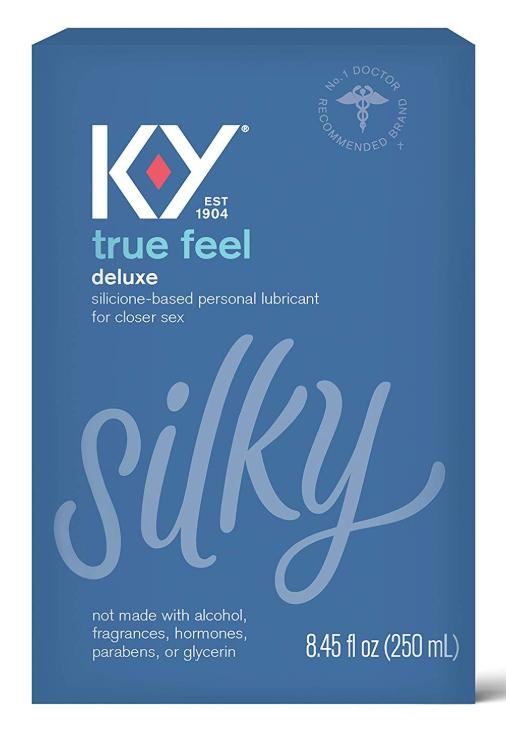 K-Y True Feel 8.45 oz. - Premium Silicone, Long Lasting, Non-irritating $10.99 - Amazon (Pre-Order)