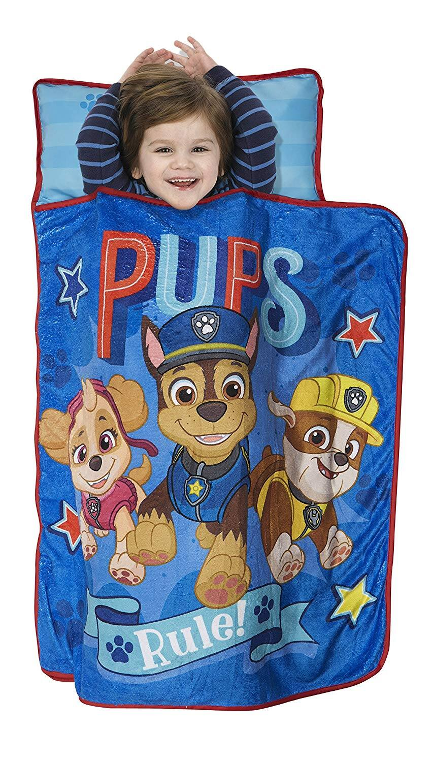 Paw Patrol Pups Rule Toddler Nap Mat w/ Attached Pillow & Blanket $8.71 - Amazon / Target
