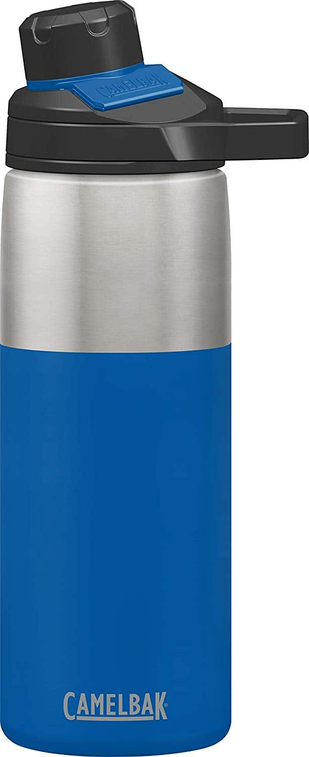 20oz. CamelBak Chute Mag Insulated Stainless Steel Water Bottle (Cobalt) $14.99 - Amazon