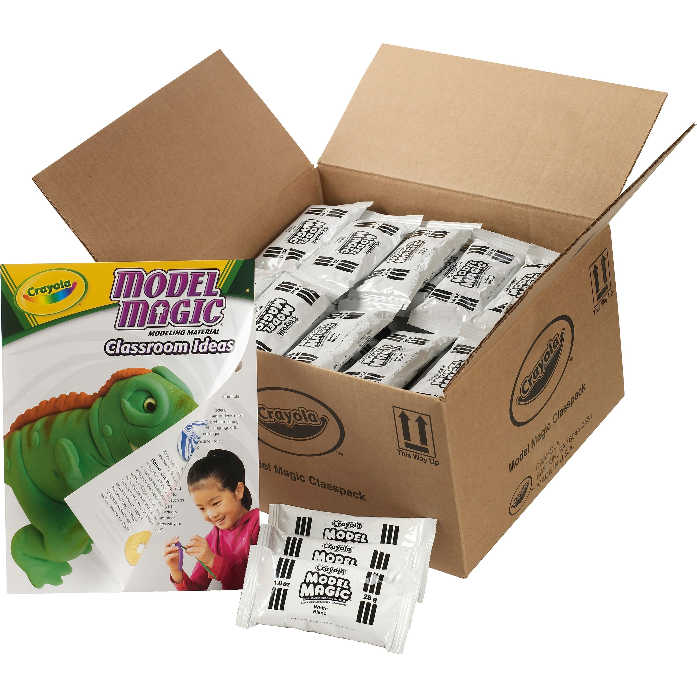 75-Pack 1oz. Crayola Model Magic Modeling Clay Compound Classpack $19.95 - Amazon