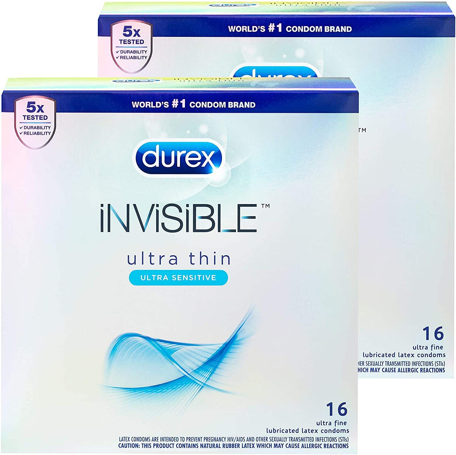 32 Ct. Durex Ultra Sensitive Lubricated Natural Condoms $15.98 AC w/s&s & MORE