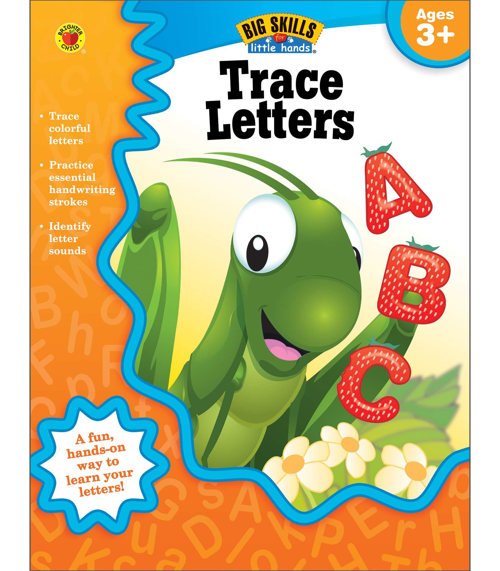 32pgs. Trace Letters Workbook | Preschool–Kindergarten $1.99 & MORE - Amazon